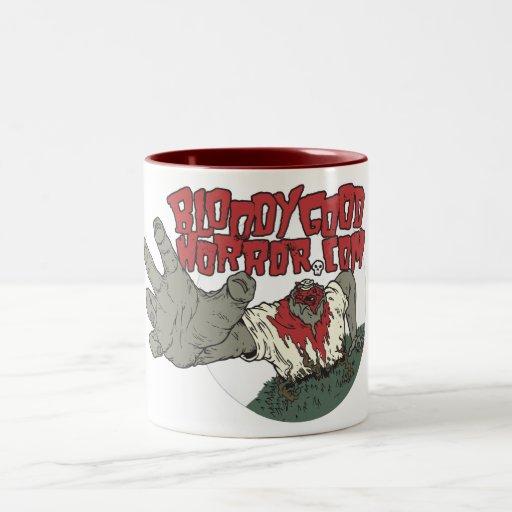 Bloody Good Horror Logo Mug
