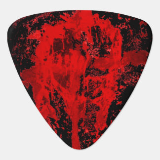 Bloody Gothic Pagan Celtic Cross Guitar Pick