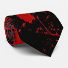 Bloody Gothic Pagan Celtic Cross Neck Tie