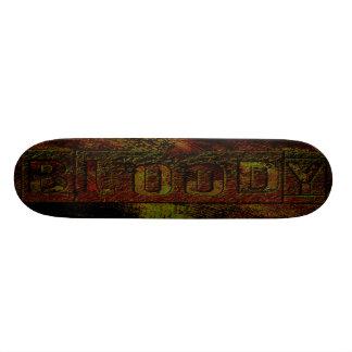 bloody grunge deck skateboard decks