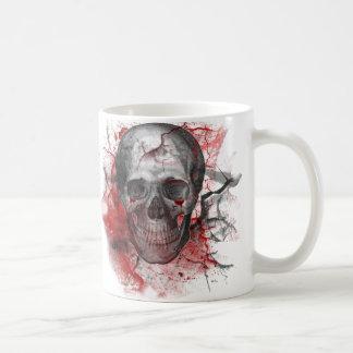 Bloody Grunge Skull Gothic Mugs