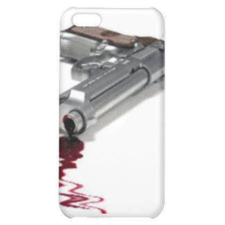 Bloody Gun Cover For iPhone 5C