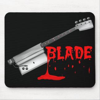 Bloody Halloween Bass Guitar Mouse Mat
