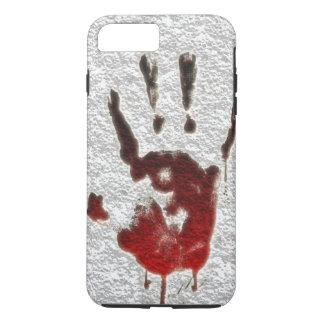 Bloody Hand print iPhone 8 Plus/7 Plus Case