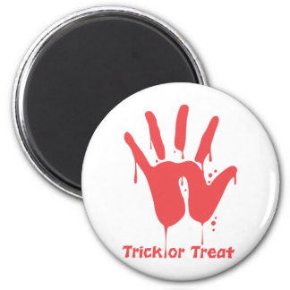 Bloody Hand Print Magnet Fridge Magnet
