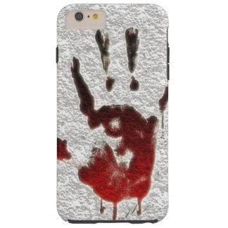 Bloody Hand print Tough iPhone 6 Plus Case