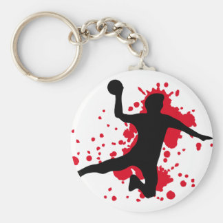 bloody handball dodgeball keychain