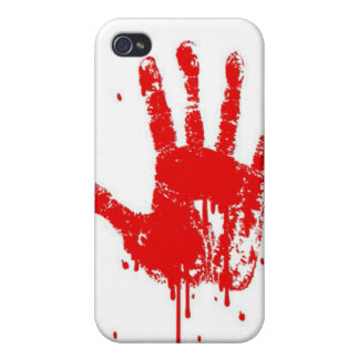 Bloody Handprint Covers For iPhone 4