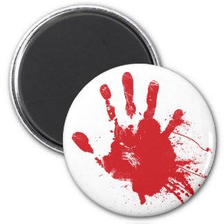 Bloody Handprint Magnet