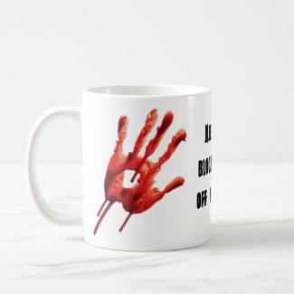 Bloody Hands Coffee Mug