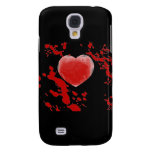 Bloody Heart Galaxy S4 Cases