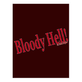 Bloody Hell Postcard