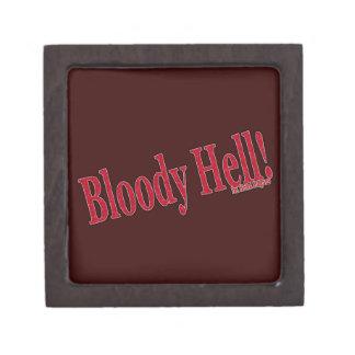 Bloody Hell Premium Keepsake Box