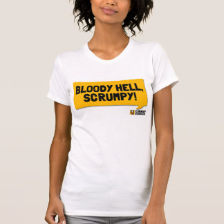 Bloody Hell, Scrumpy! A Cornish Soundboard T-Shirt