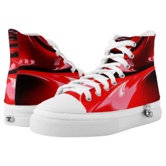 Bloody High Top Shoes