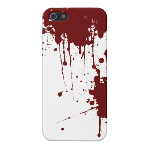 Bloody iPhone Case Cover For iPhone 5/5S