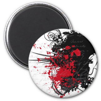 Bloody Letter Design Products Magnets