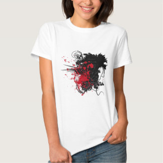Bloody Letter Design Products T Shirt