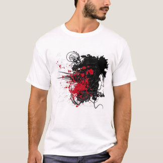 Bloody Letter Design Products T-Shirt