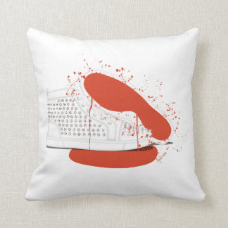 BLOODY LOUBOUTIN SNEAKERS THROW PILLOW