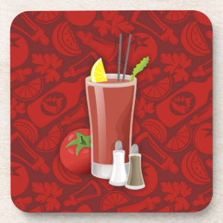 Bloody Mary Beverage Coaster