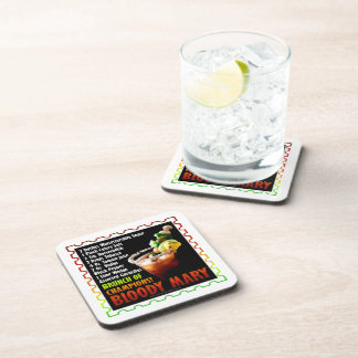 BLOODY MARY, Brunch of Champions Drink Coaster
