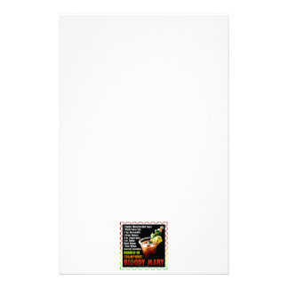 BLOODY MARY, Brunch of Champions Stationery