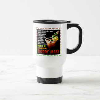 BLOODY MARY, Brunch of Champions Travel Mug