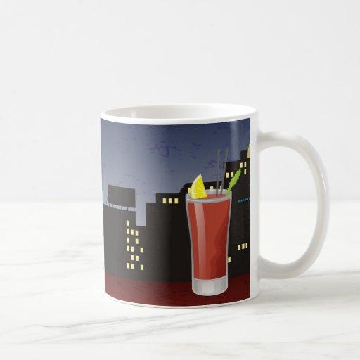 Bloody Mary Classic White Coffee Mug