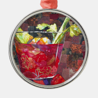 Bloody Mary collage Metal Ornament