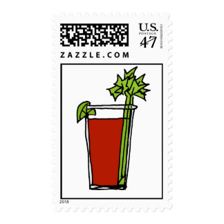 bloody mary color postage
