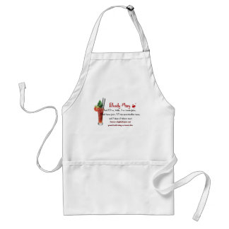 Bloody Mary Drink Recipe Adult Apron