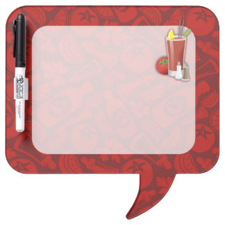Bloody Mary Dry Erase Board