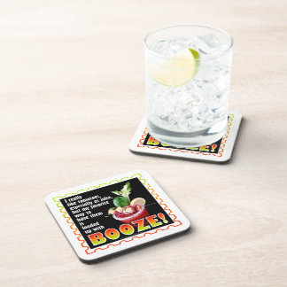 BLOODY MARY, Loaded Up with Booze! Coaster