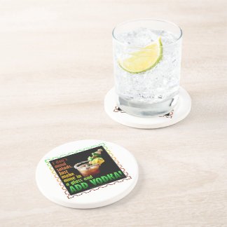 BLOODY MARY, LOADED UP WITH BOOZE COASTER