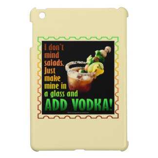 BLOODY MARY, LOADED UP WITH BOOZE iPad MINI CASE
