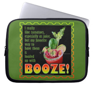 BLOODY MARY, Loaded Up with Booze! Computer Sleeve