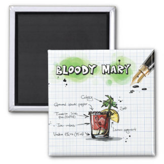 Bloody Mary Magnet