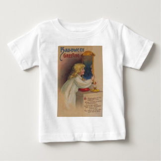 Bloody Mary Mirror Cute Little Girl Baby T-Shirt