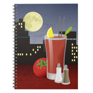 Bloody Mary Spiral Note Books