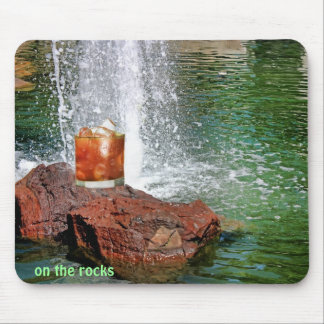 Bloody Mary onthe rocks, mousepad