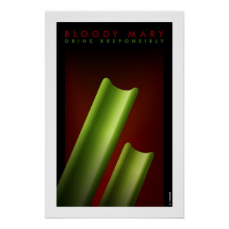Bloody mary pequeño poster