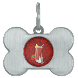 Bloody Mary Pet Name Tag