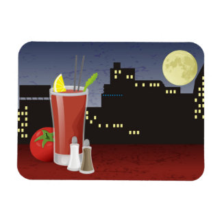 Bloody Mary Vinyl Magnet
