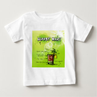 Bloody Mary Recipe - Cocktail Gift Baby T-Shirt
