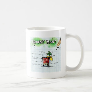 Bloody Mary Recipe - Cocktail Gift Coffee Mug