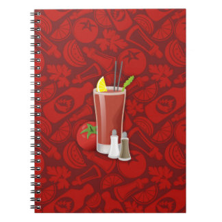 Bloody Mary Spiral Notebook