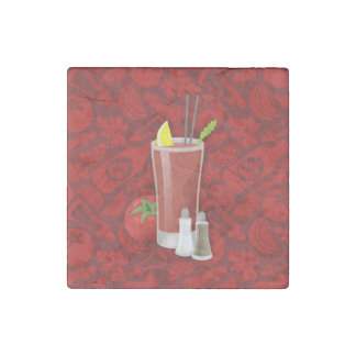 Bloody Mary Stone Magnet