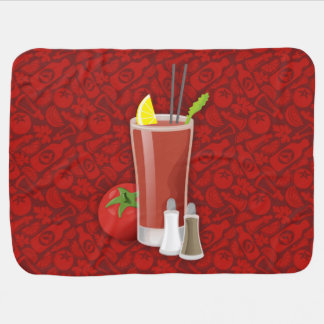 Bloody Mary Stroller Blanket