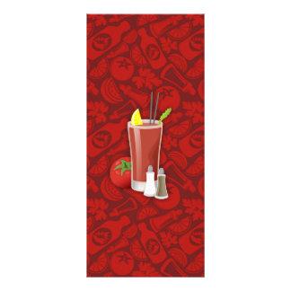 Bloody mary tarjetas publicitarias